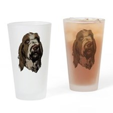 Cute Spinone Drinking Glass