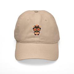Black Sugar Skull Cap