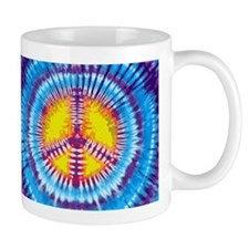 Purple Peace Small Mug