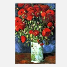 Red Poppies - Van Gogh Postcards (Package of 8)