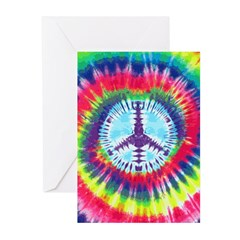 Spiral Peace Greeting Cards (Pk of 10)