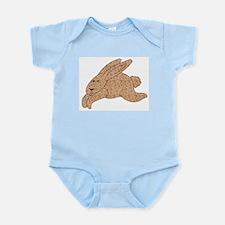 Calico Bunnies Infant Bodysuit