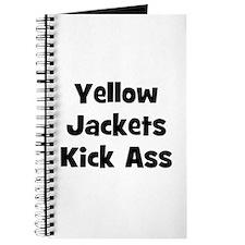 Yellow Jackets Kick Ass Journal