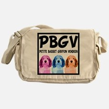 PBGV Pop Art Messenger Bag