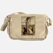 Scottie, Westie & Skye Terrie Messenger Bag
