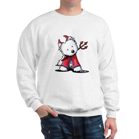 Little Devil Westie Sweatshirt