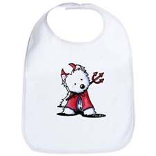 Little Devil Westie Bib