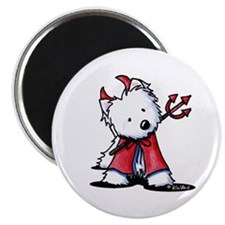 "Little Devil Westie 2.25"" Magnet (10 pack)"