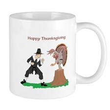 Thanksgiving Karate Turkey Mug