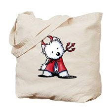 Little Devil Westie Tote Bag