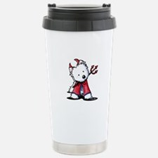 Little Devil Westie Travel Mug