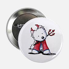 """Little Devil Westie 2.25"""" Button"""
