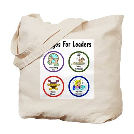 Badges for Leaders Tote Bag