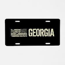 Black Flag: Georgia Aluminum License Plate