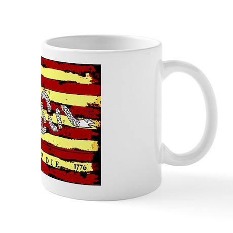 """""""Revolutionary Flag: Join or Die!"""" Mug"""
