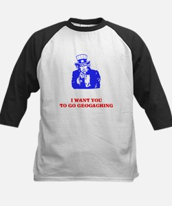 I WANT YOU TO GO GEOCACHING Tee