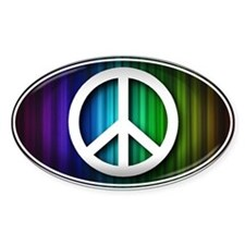 Big Peace RAINBOW - Decal