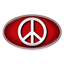 Big Peace RED - Decal