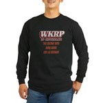 WKRP Large Button Long Sleeve T-Shirt