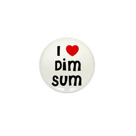 I * Dim Sum Mini Button (10 pack)
