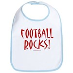 Football Rocks - Bib