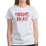 Football Rocks - Women's T-Shirt