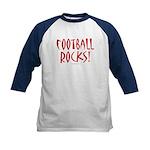 Football Rocks - Kids Baseball Jersey