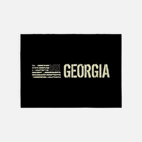 Black Flag: Georgia 5'x7'Area Rug