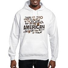 American (Funny) Gift Jumper Hoody