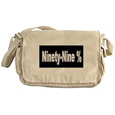 Ninety-Nine Percent Messenger Bag