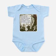 Sherlock Holmes Truth Infant Bodysuit