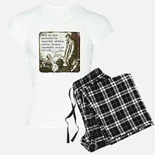 Sherlock Holmes Truth Pajamas