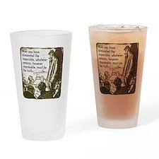 Sherlock Holmes Truth Drinking Glass