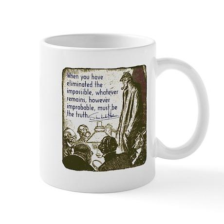 Sherlock Holmes Truth Mug