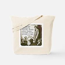 Sherlock Holmes Truth Tote Bag
