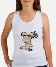 Go Forth and Seek Women's Tank Top
