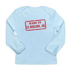 MADE IN EL DORADO, AR Long Sleeve Infant T-Shirt