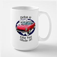 Fiat 124 Spider Large Mug