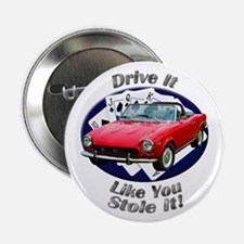 Fiat 124 Spider 2.25 Inch Button (10 pack)