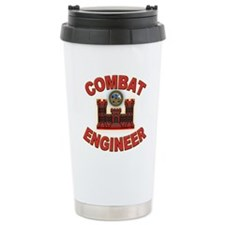 US Army Combat Engineer Brick Travel Mug