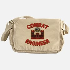 US Army Combat Engineer Brick Messenger Bag