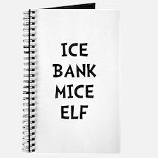Ice Bank Mice Elf Journal