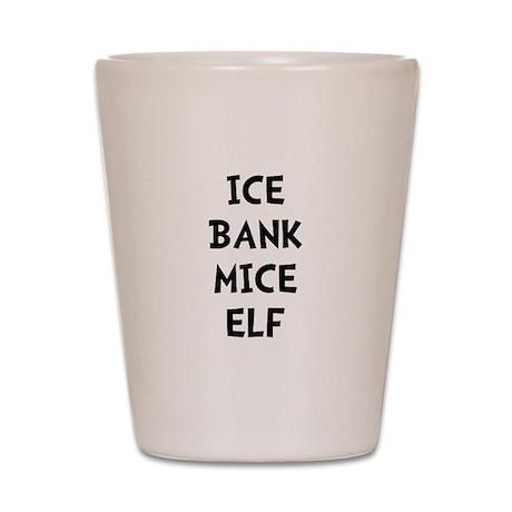 Ice Bank Mice Elf Shot Glass