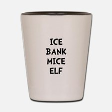 Ice Bank Mice Elf Shot Glass