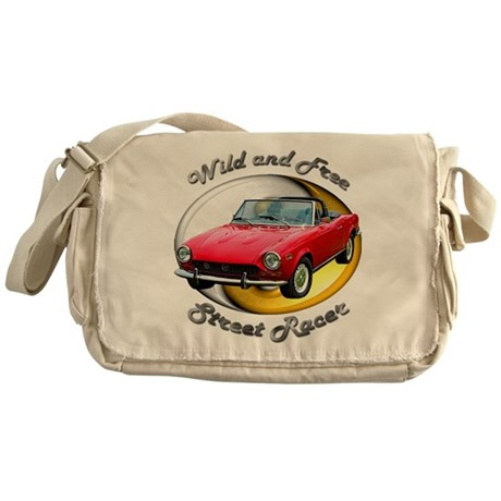 Fiat 124 Spider Messenger Bag