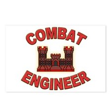 US Army Combat Engineer Brick Postcards (Package o