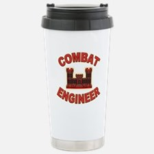 US Army Combat Engineer Brick Travel Mug
