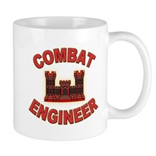 US Army Combat Engineer Brick Mug