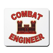 US Army Combat Engineer Brick Mousepad