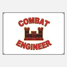 US Army Combat Engineer Brick Banner